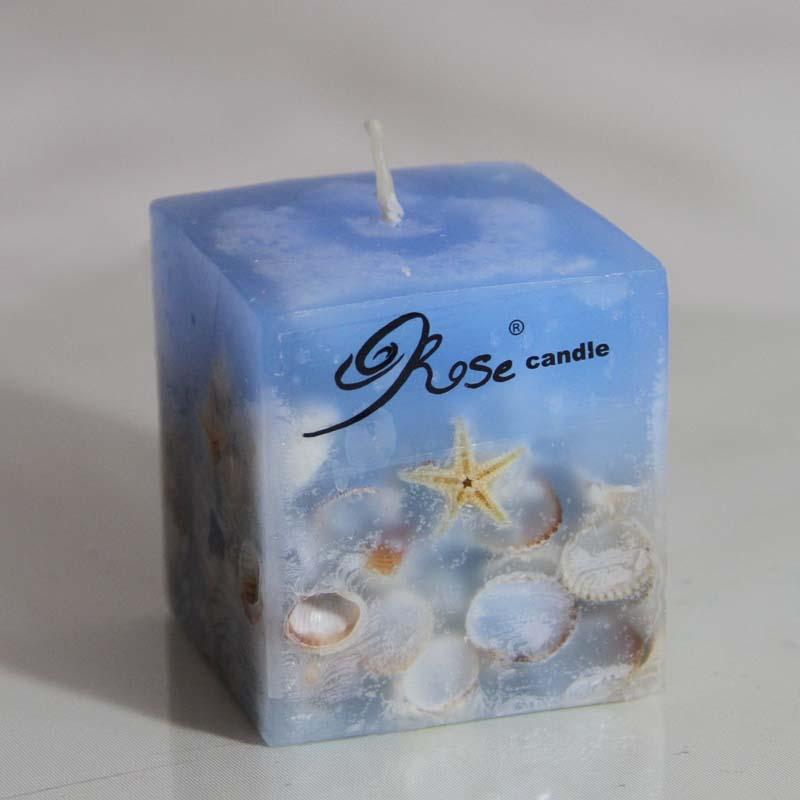 شمع دريايي مكعب