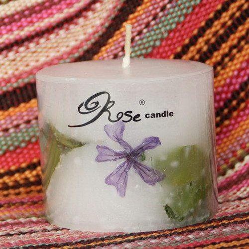 شمع گل پنيرك